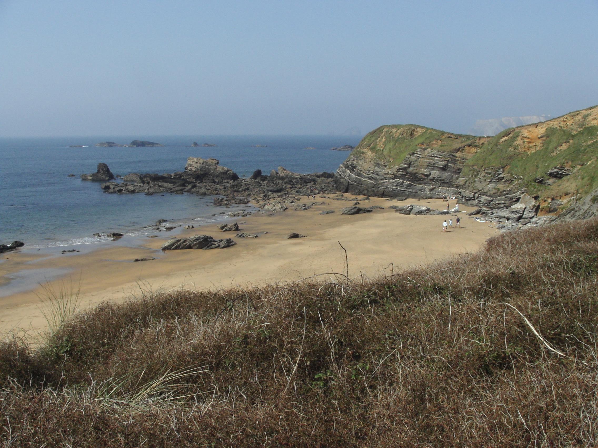 Foto playa Aguilera. Playa de Verdicio