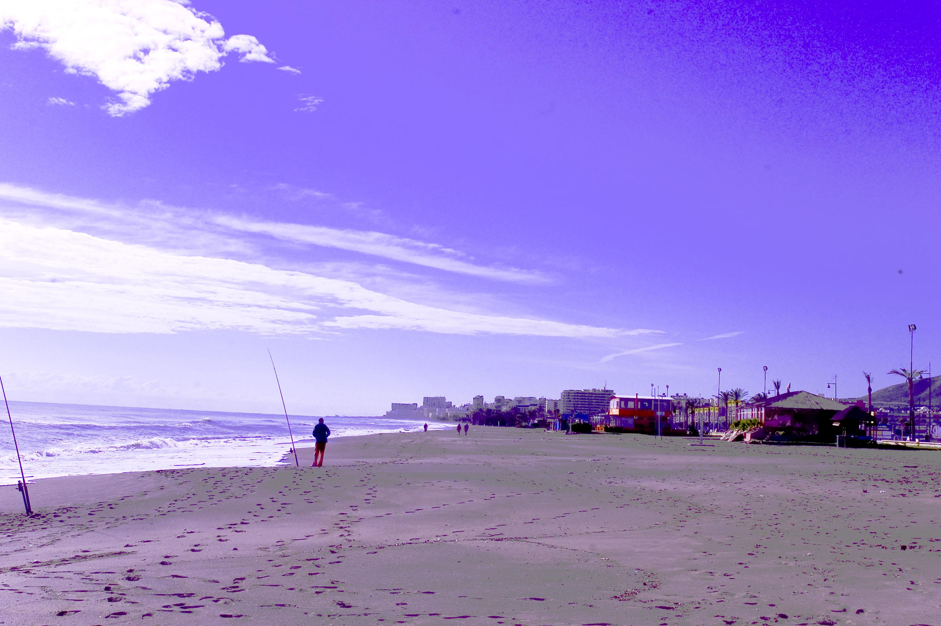 Foto playa Playa del Campo de Golf / Campo de Golf San Julián. playa en zona límite Torremolinos Málaga