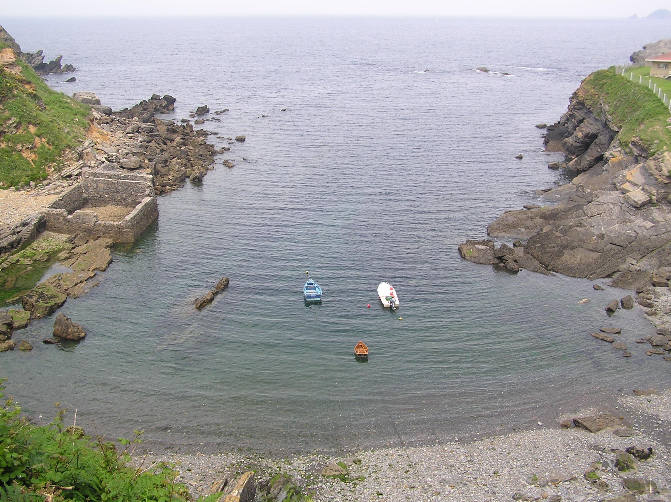 Foto playa Aguilera. Molín del Puerto