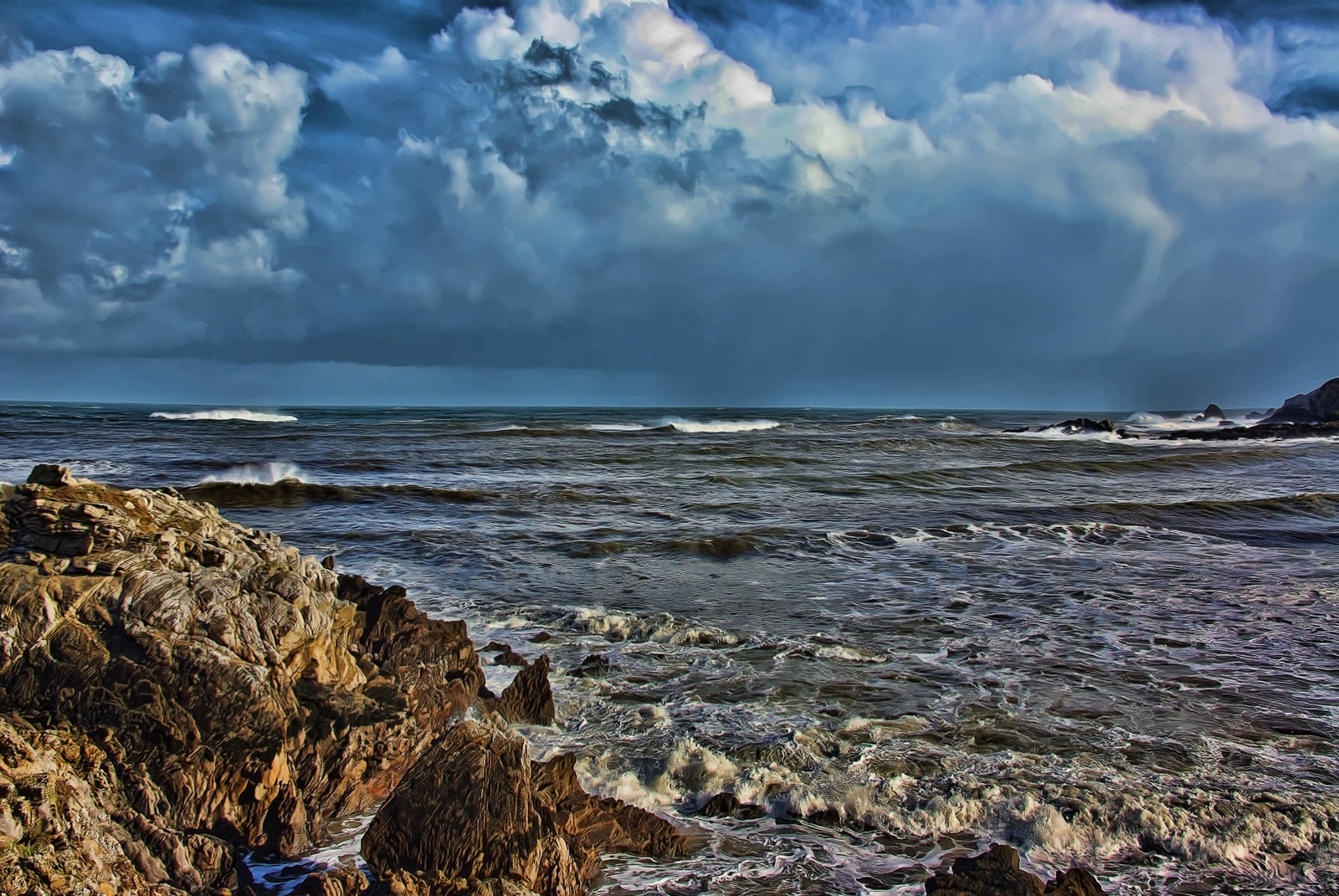 Foto playa Bañugues. Bañugues.-Asturias.