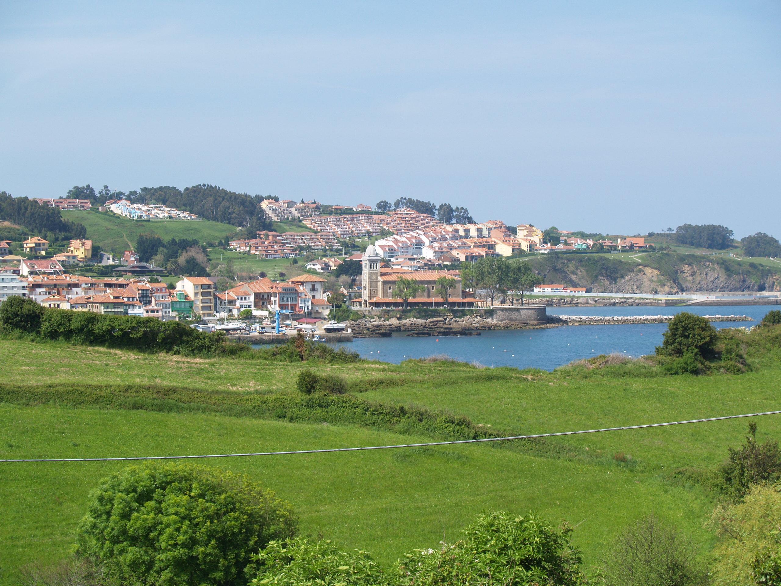 Foto playa Aramar. Luanco