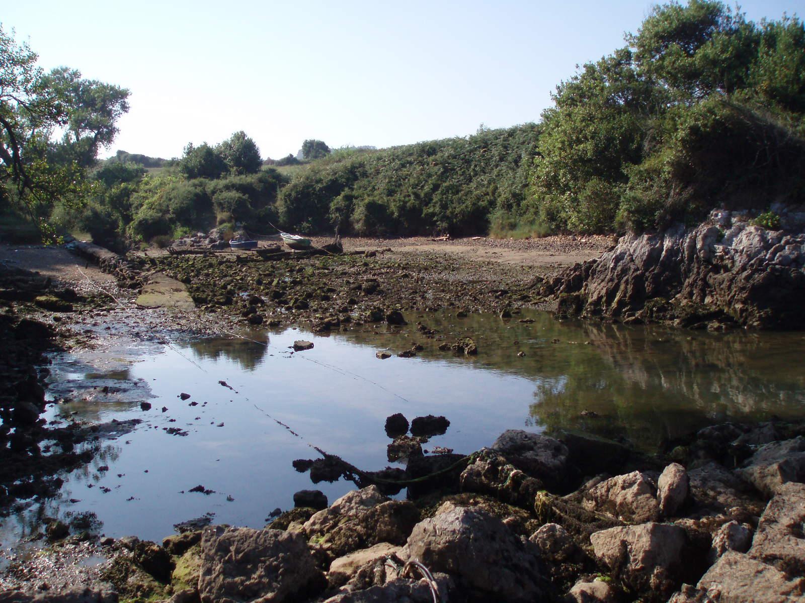 Foto playa El Bigaral / Los Cristales. El dique