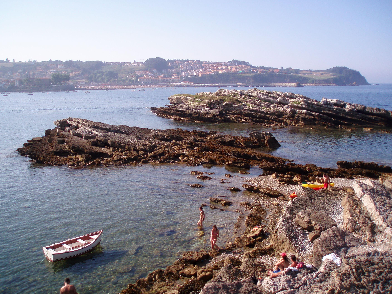 Foto playa San Pedro de Antromero. vista desde El Carmen