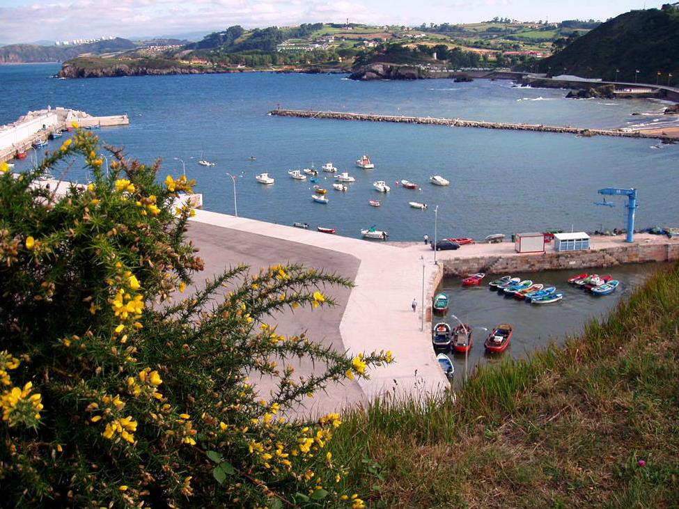 Foto playa Candás / La Pregona. Candas, Asturias