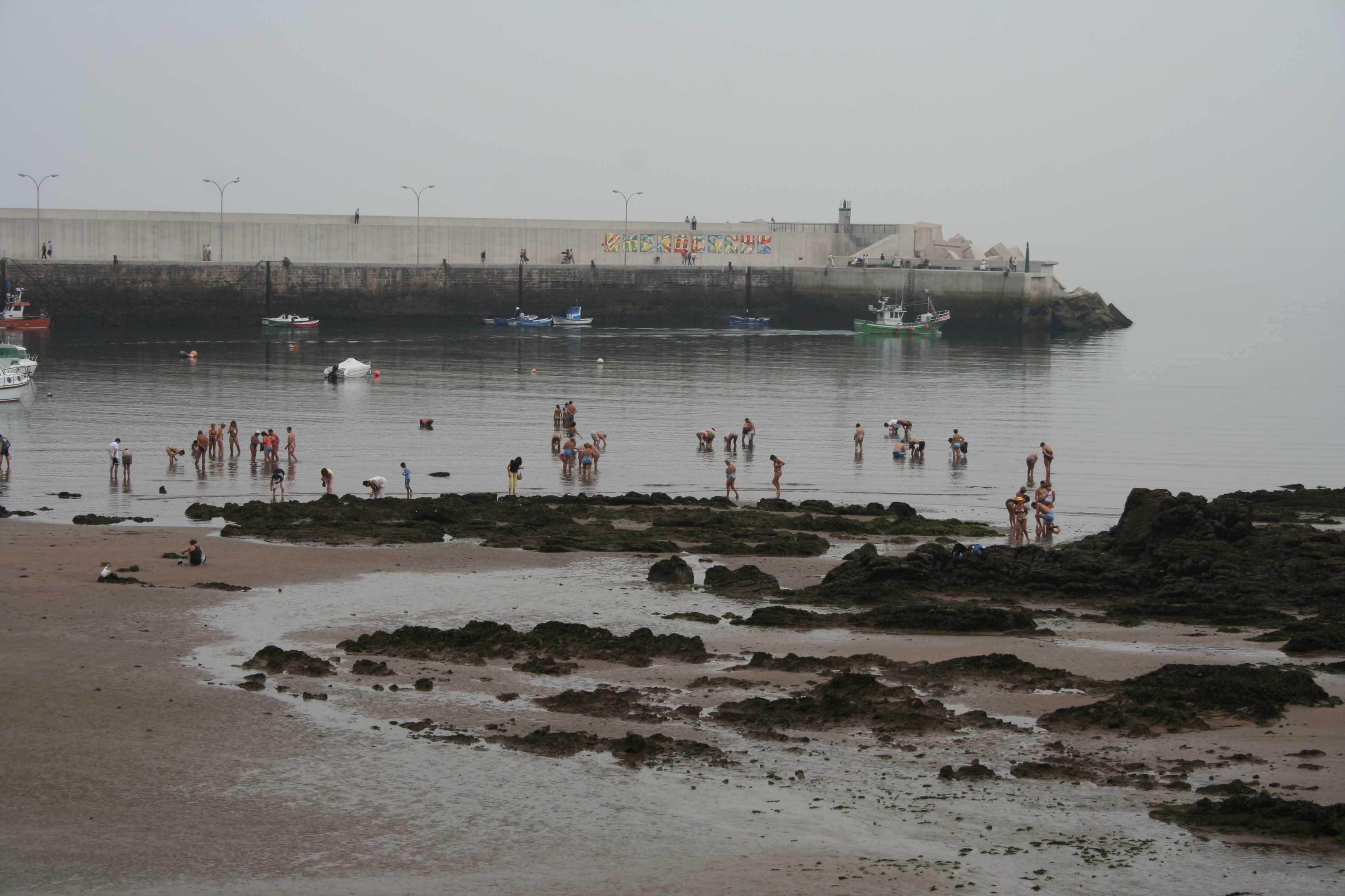 Foto playa Candás / La Pregona. Candás 2006 001