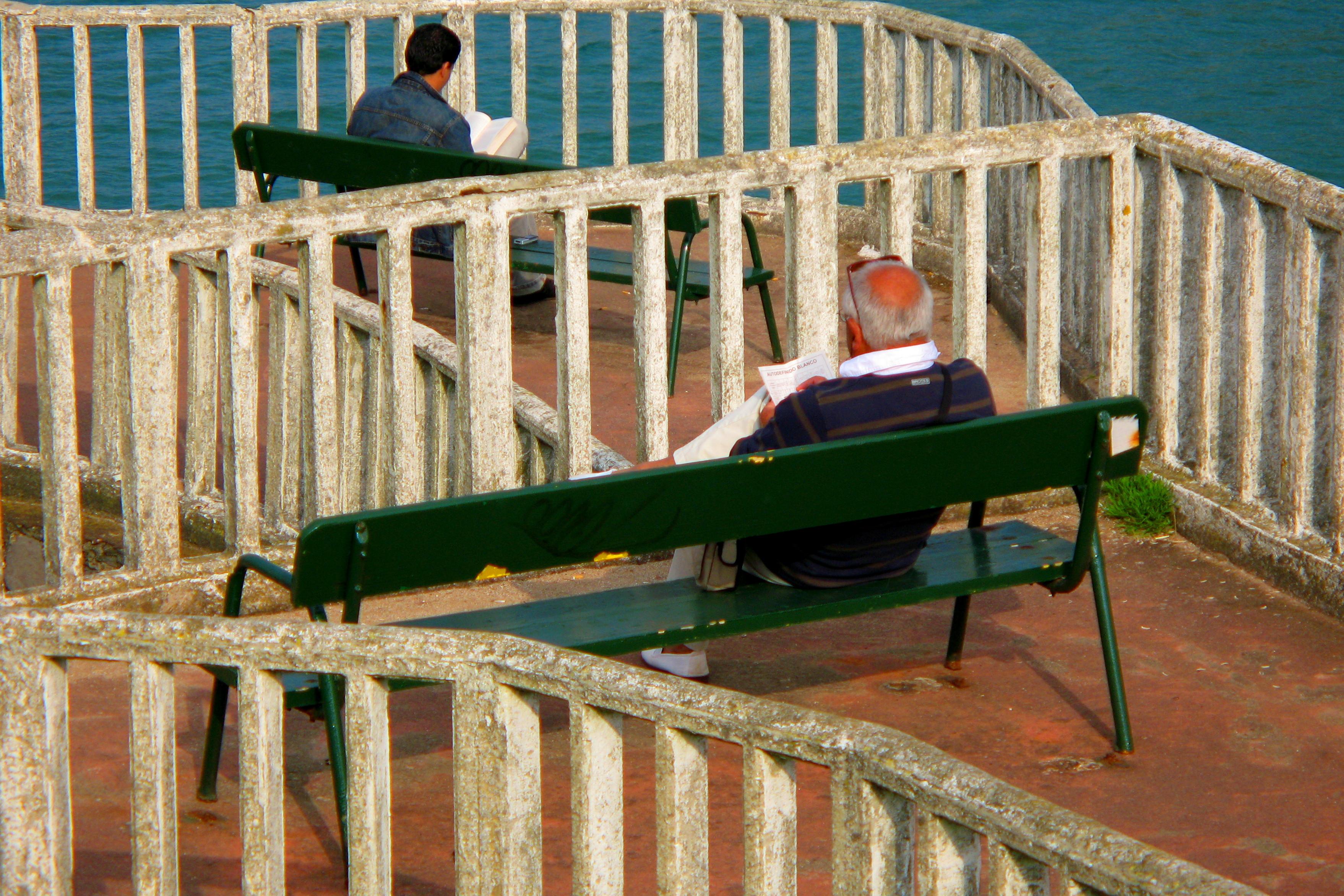 Foto playa Carranques 1 y 2. Lectores de mar