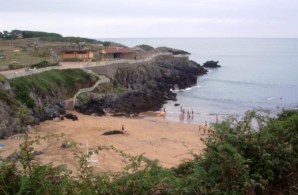 Foto playa Carranques 1 y 2. Playa de Carranques Perlora