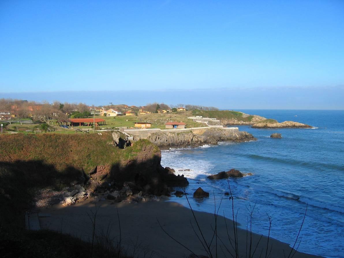 Foto playa Carranques 1 y 2. Perlora (Carreño)
