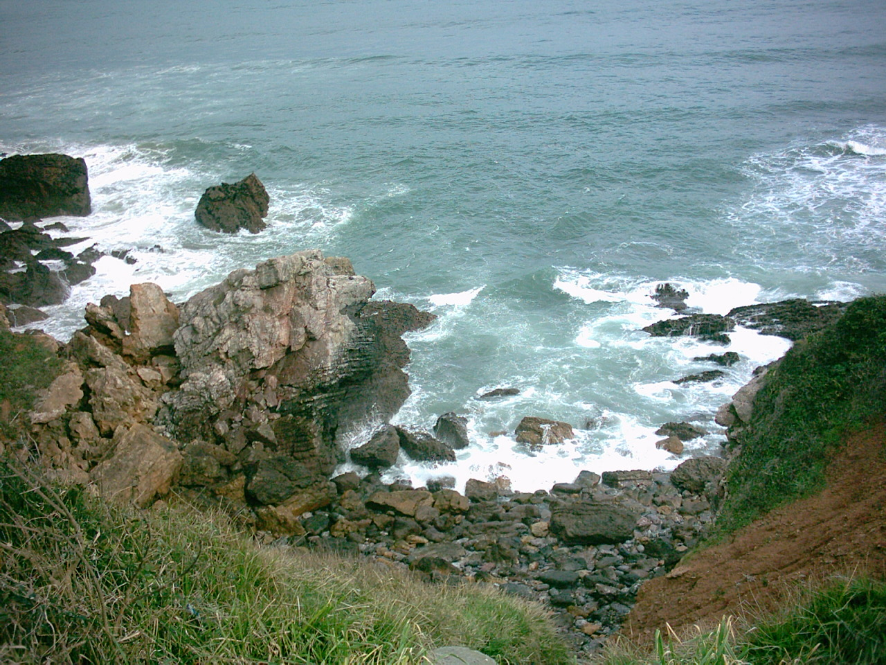 Foto playa Tranqueru. Calas camino a Xivares