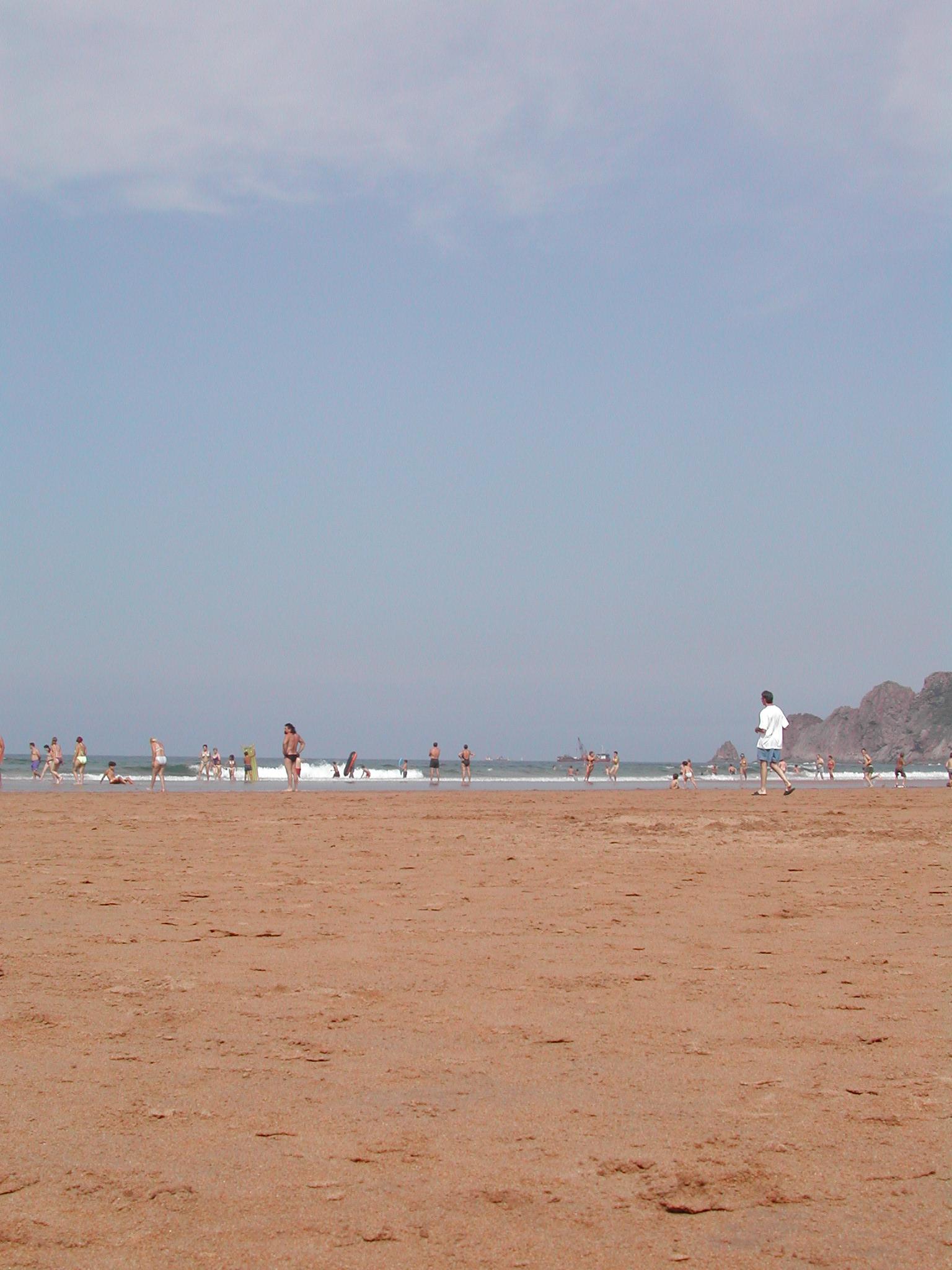 Foto playa Xivares 1 y 2. Candás 2004 004
