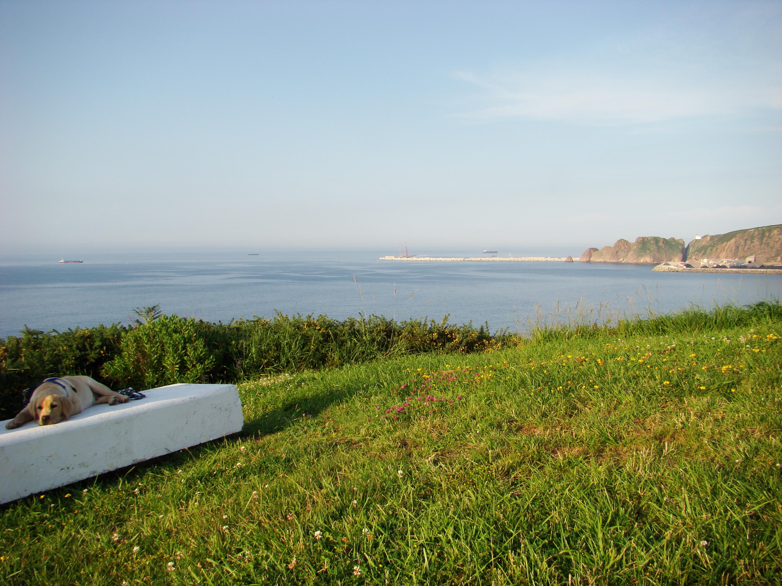 Foto playa Xivares 1 y 2. YAKO EN XIVARES