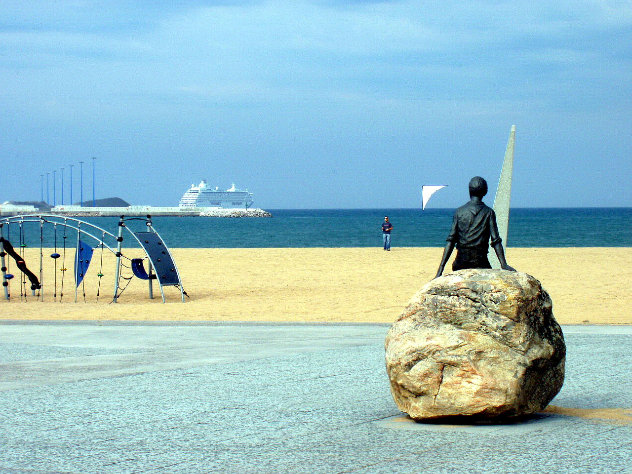 Foto playa Arbeyal. Playa del Arbeyal, La Calzada, Gijón, Asturias