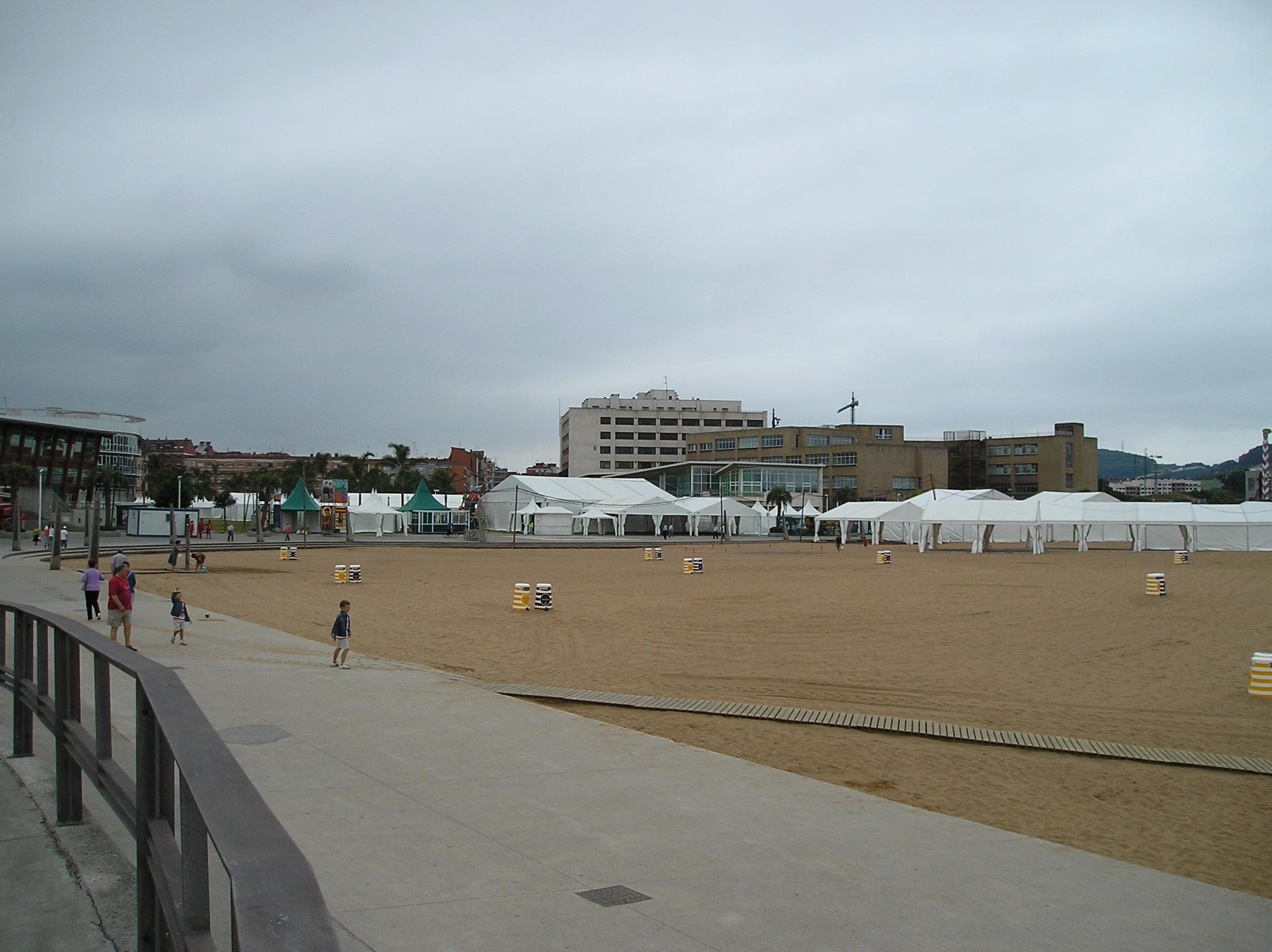 Foto playa Arbeyal. Semana Negra-2009-4