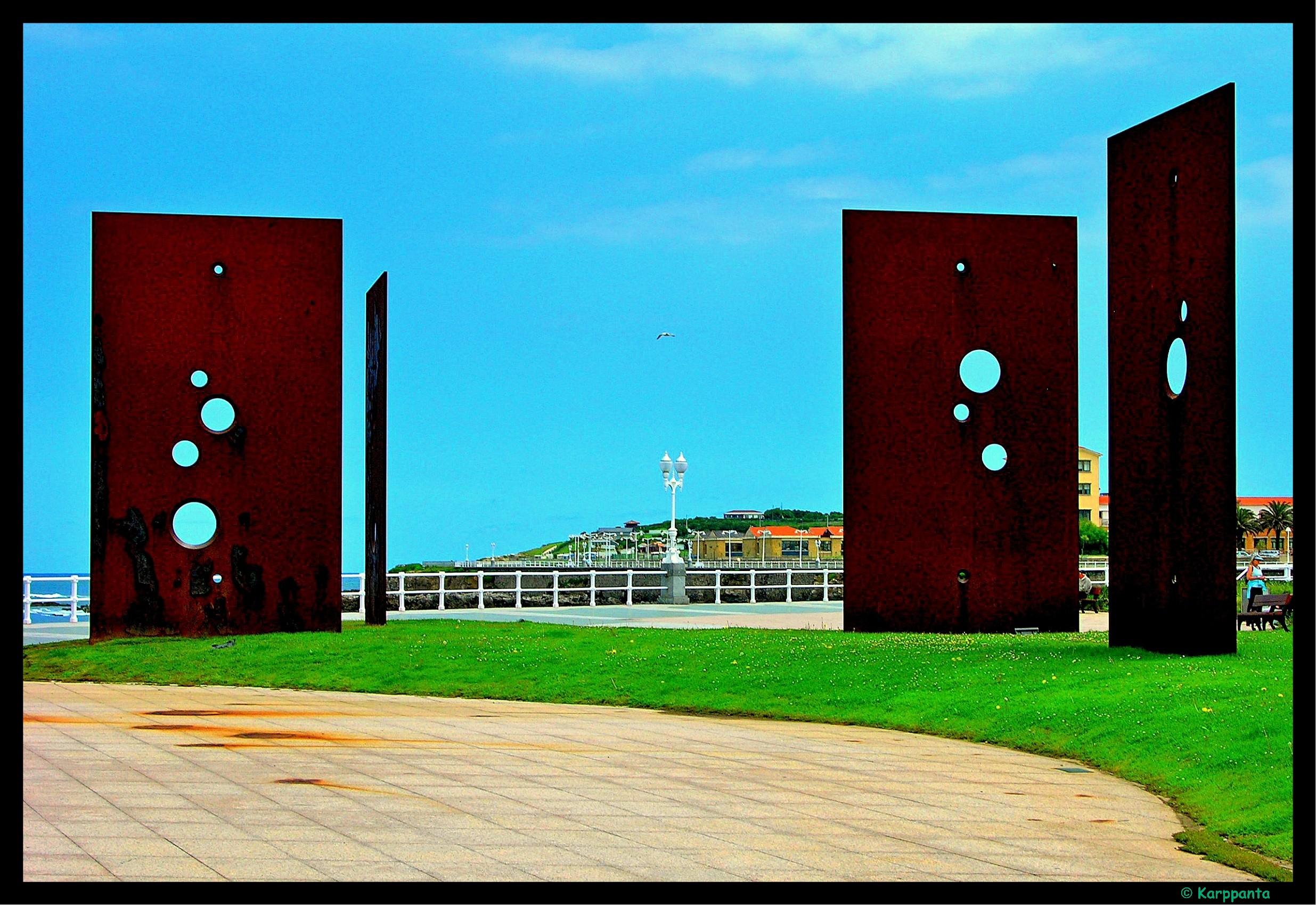 Foto playa Cervigón / El Rinconín. Sombras de Luz  (Fernando Alba) - Gijón