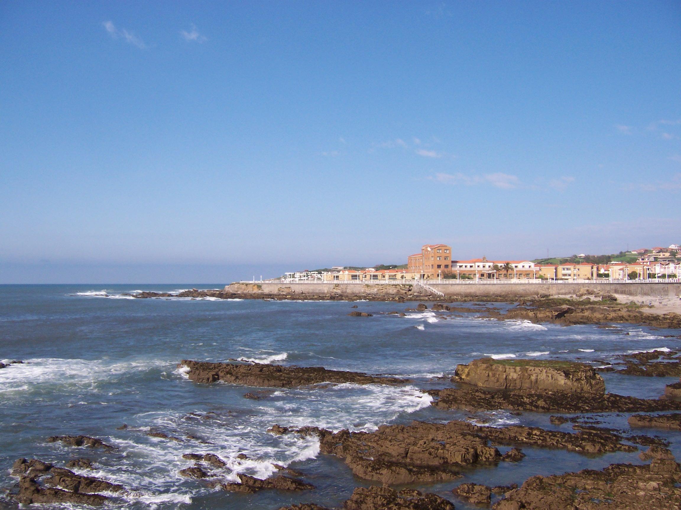 Foto playa Cervigón / El Rinconín. Gijon