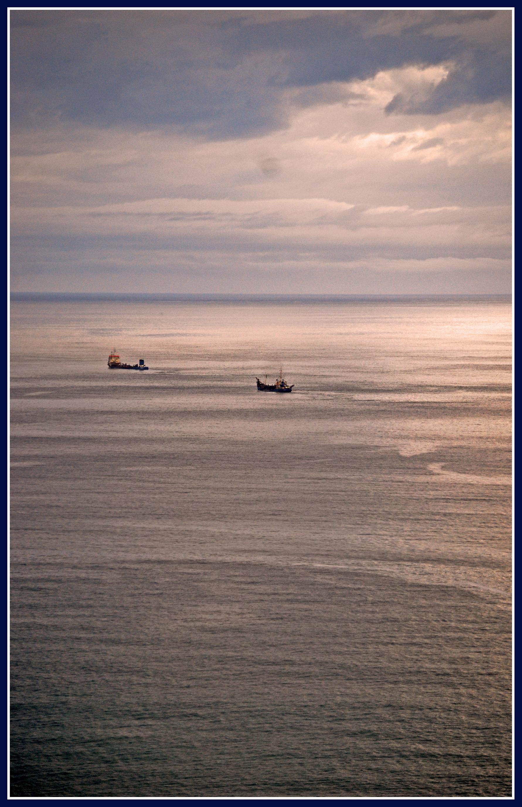 Foto playa Cagonera y Serín. como una acuarela (grazie Marcello)