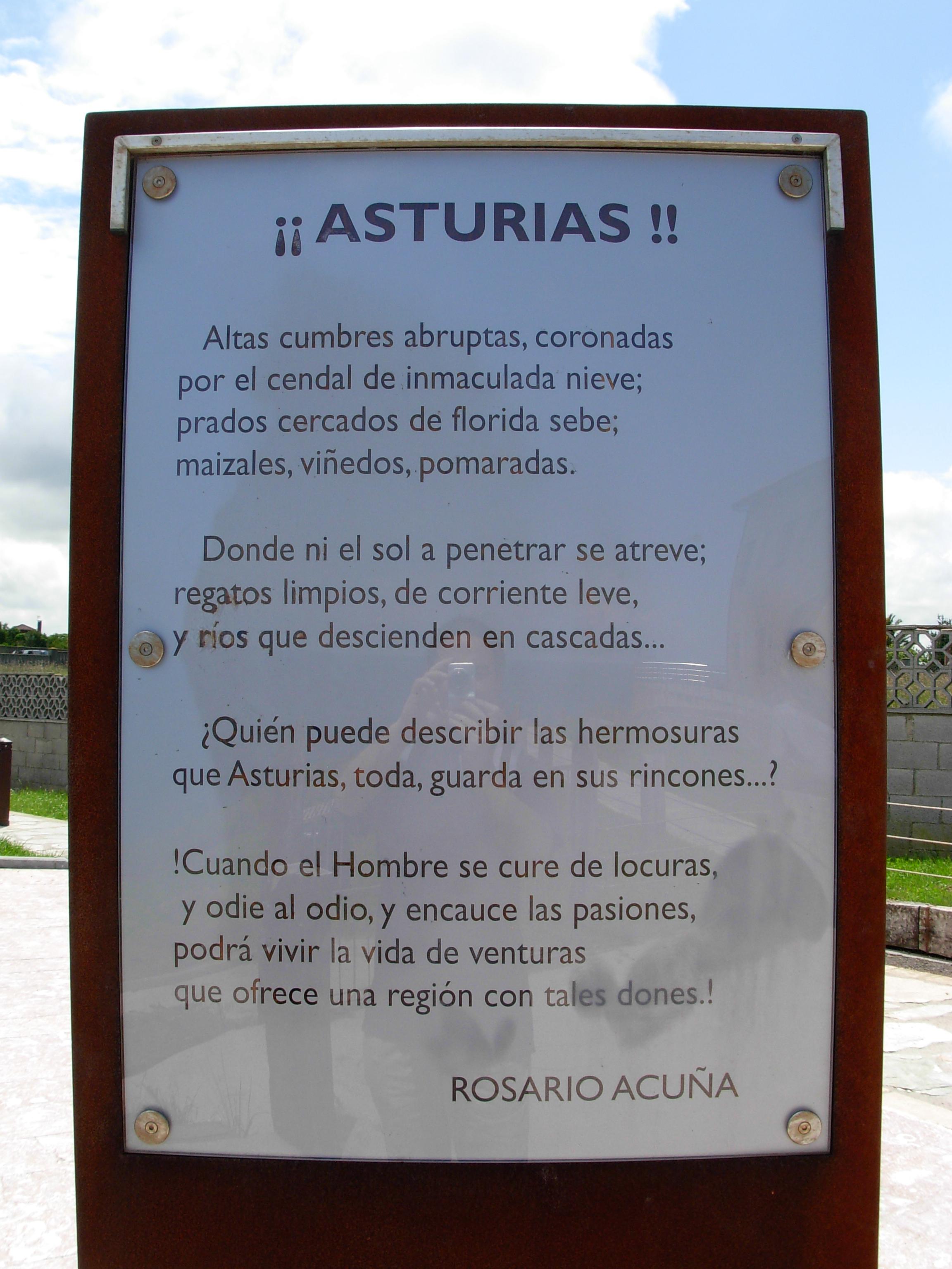 Foto playa Cagonera y Serín. Â¡Â¡Asturias!! Rosario Acuña