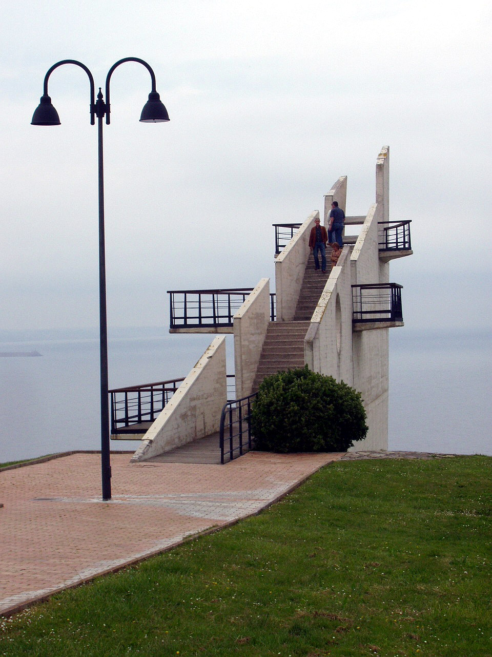 Foto playa Cagonera y Serín. Mirador en la Providencia, Gijón, Asturias