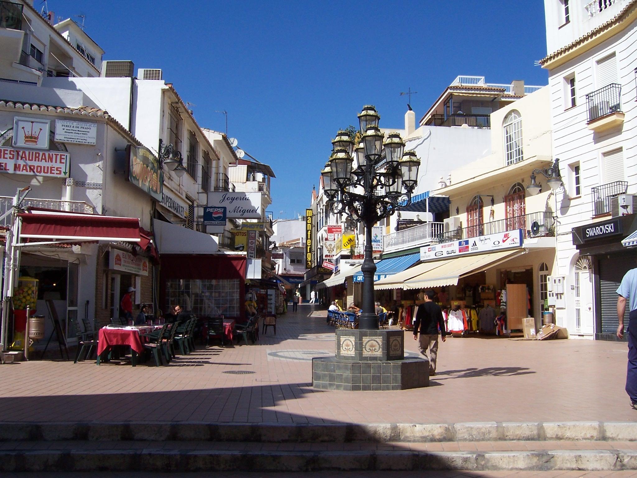 Foto playa El Bajondillo. Torremolinos - Calle San Miguel
