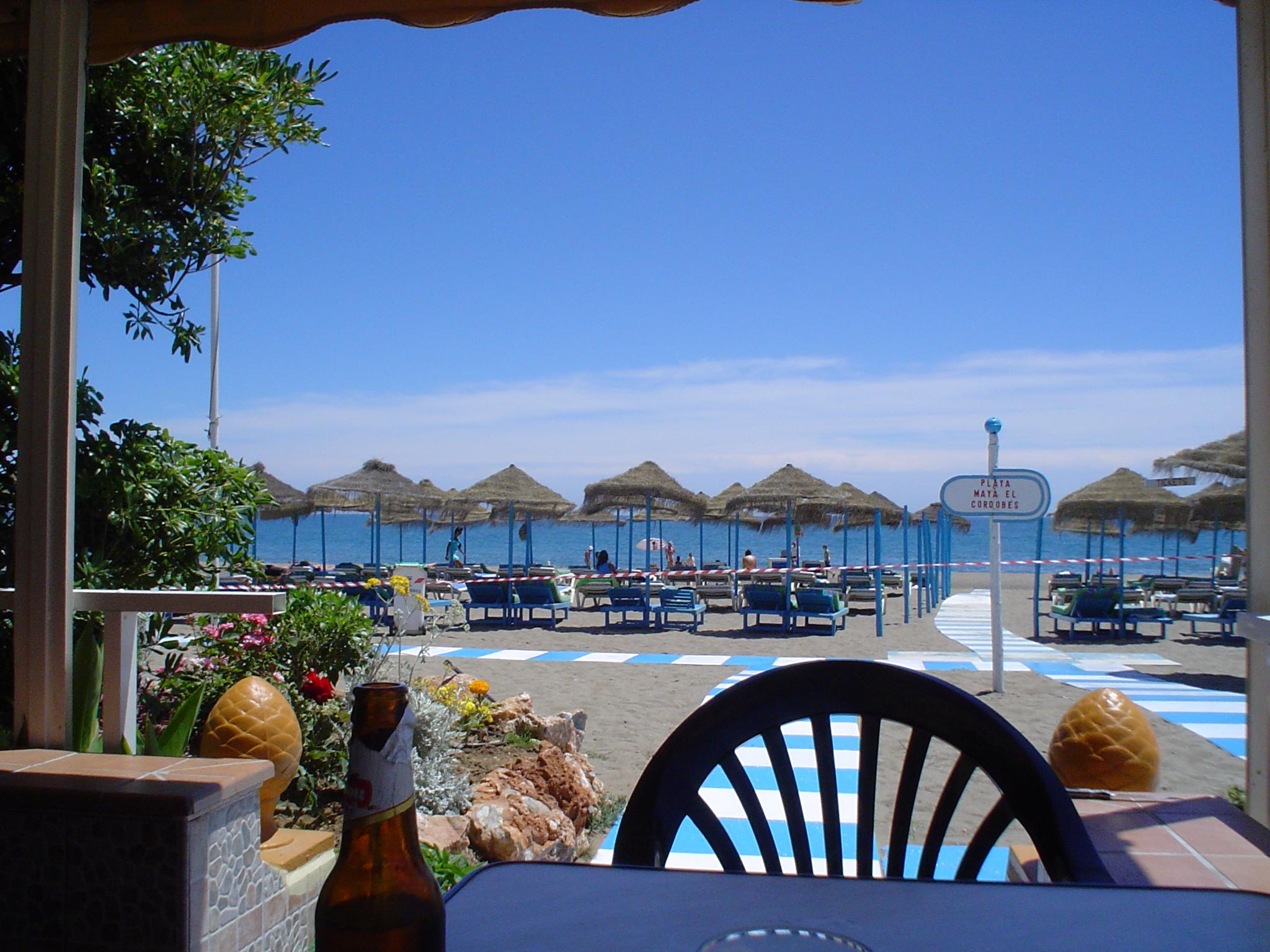 Foto playa El Bajondillo. TORREMOLINOS 14