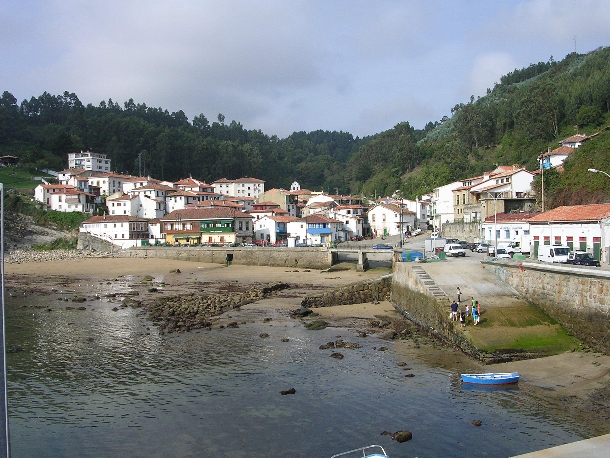 Foto playa Tazones. Tazones- Principado de Asturias