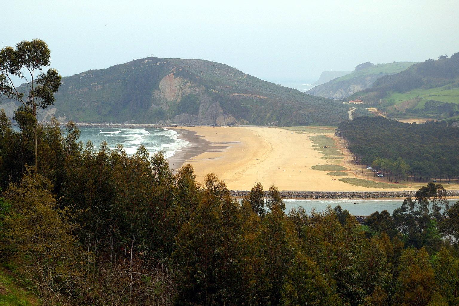 Foto playa Rodiles. Playa de Rodiles, Villaviciosa, Asturias