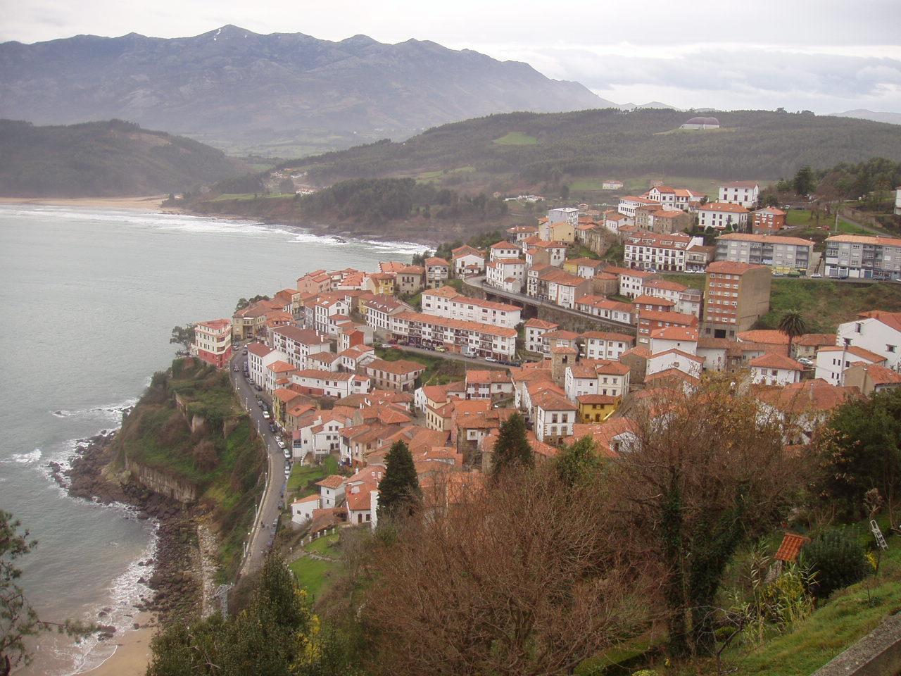 Foto playa Lastres / El Ideal / El Astillero. Lastres, Asturias.
