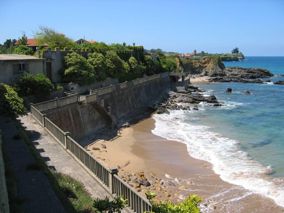 Foto playa La Espasa. La Isla (Colunga)