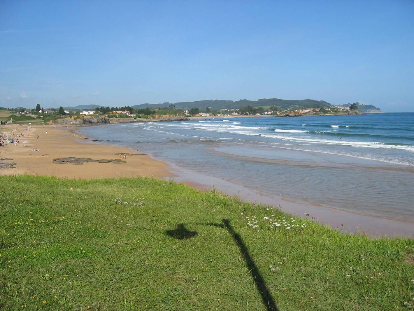 Foto playa El Viso / Arenal de Moracey. Espasa (Caravia)