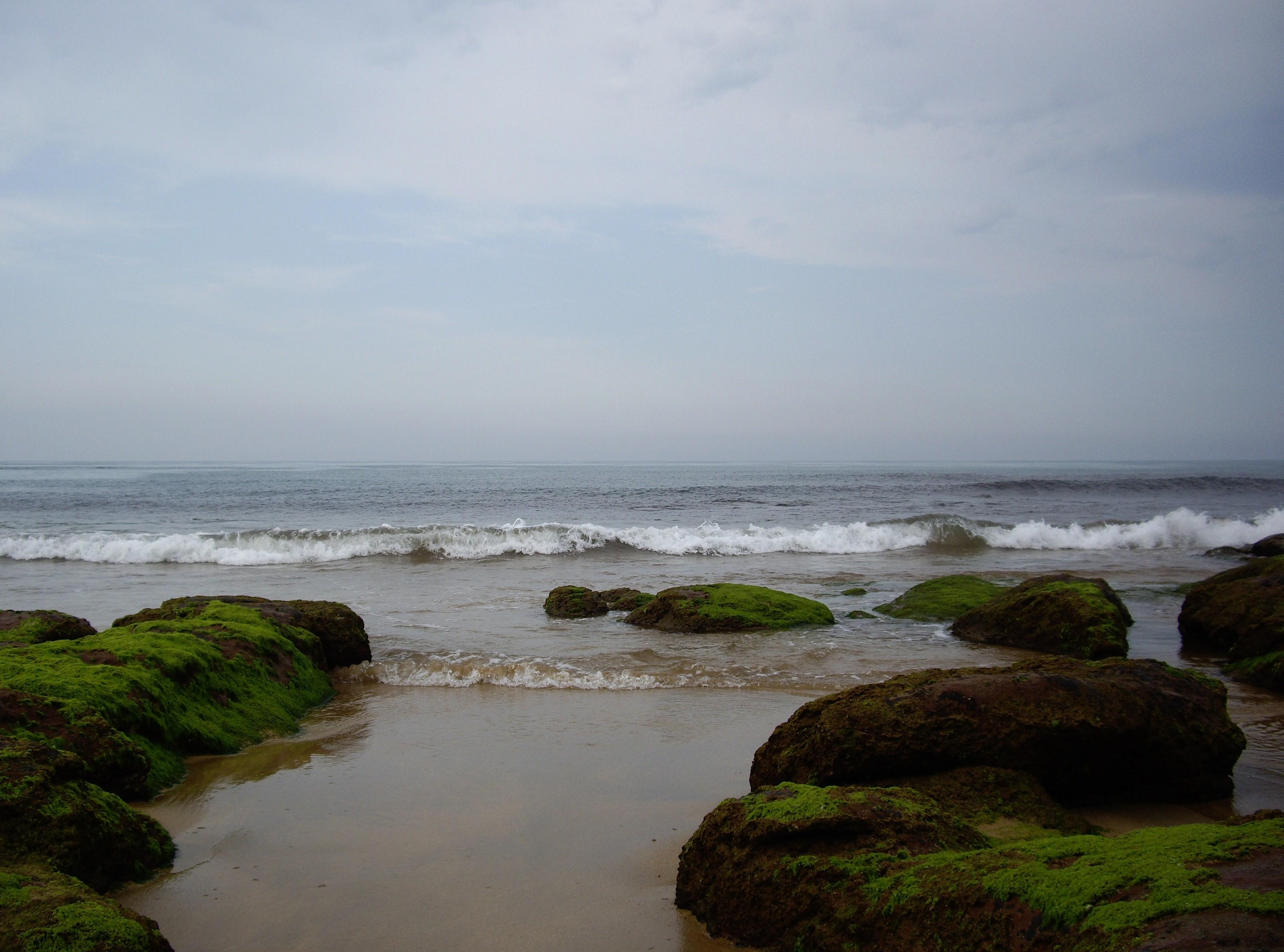 Foto playa Beciella / Barciella. Con la bajamar