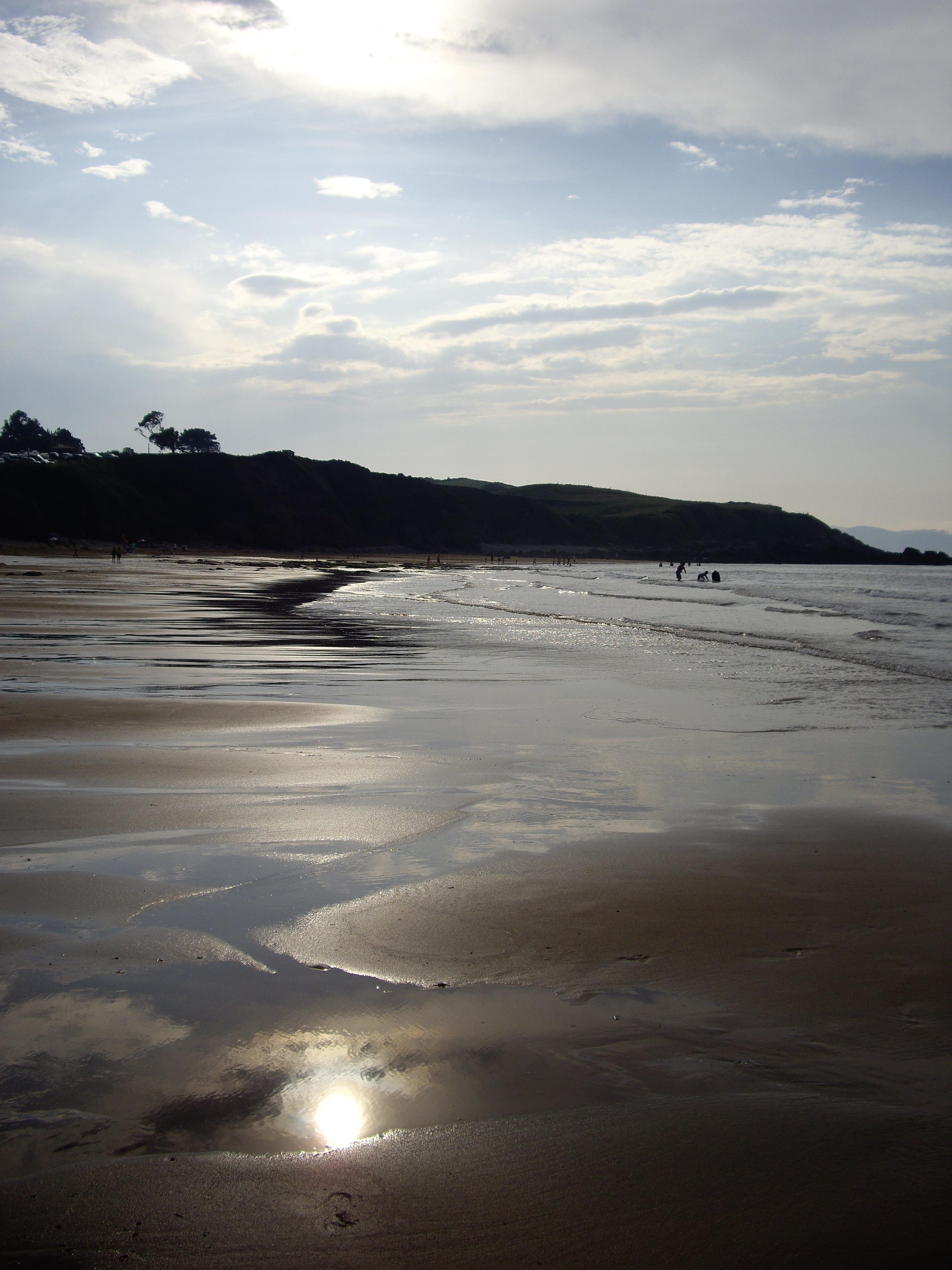 Foto playa Beciella / Barciella. El arenal de Moris