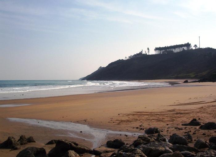 Foto playa Beciella / Barciella. Caravia vista playa M