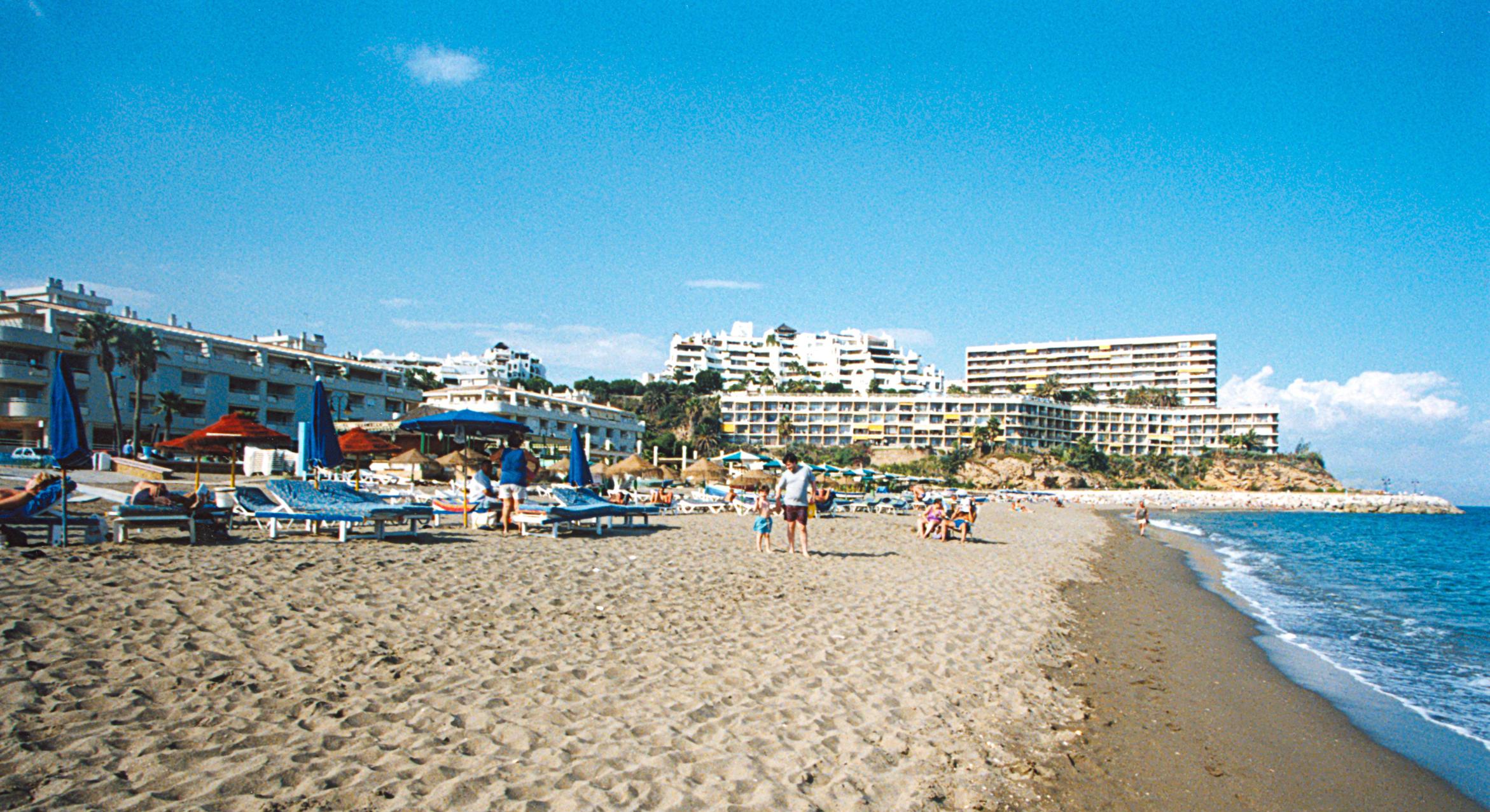 Foto playa La Carihuela. Playa de La Carihuela