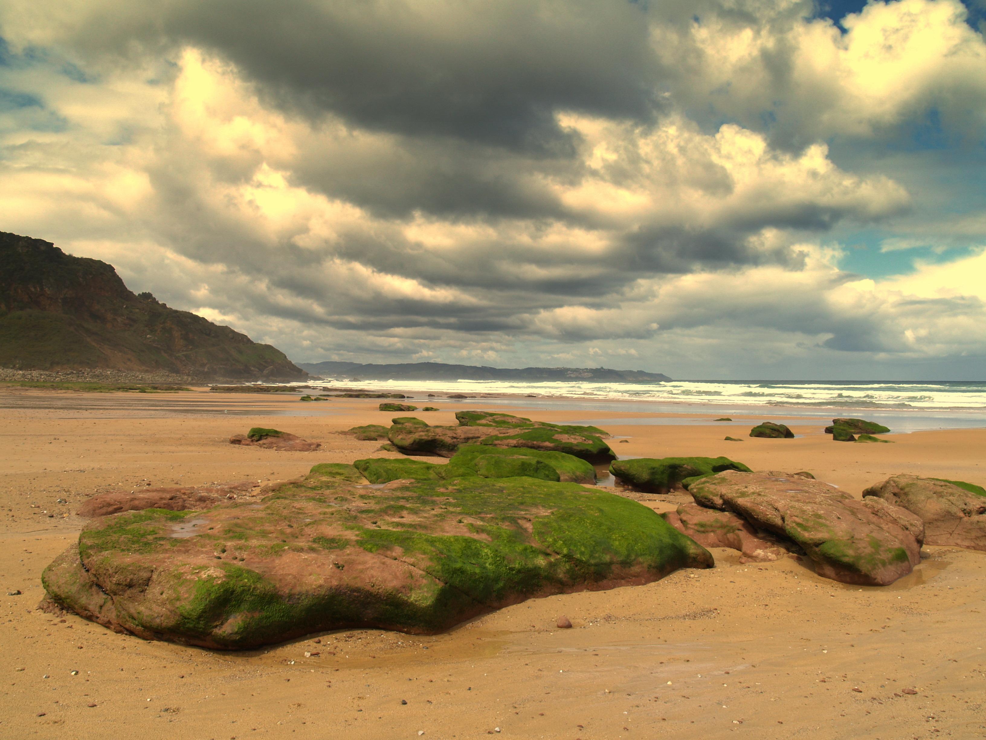 Foto playa Vega / Berbes. Playa de Vega, Asturias.
