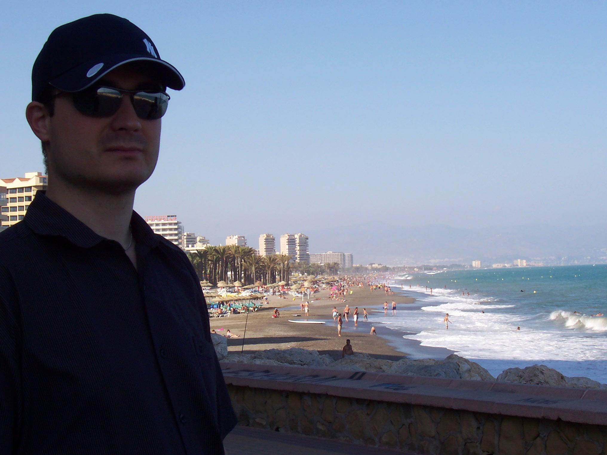 Foto playa La Carihuela. Dani en la Costa del Sol