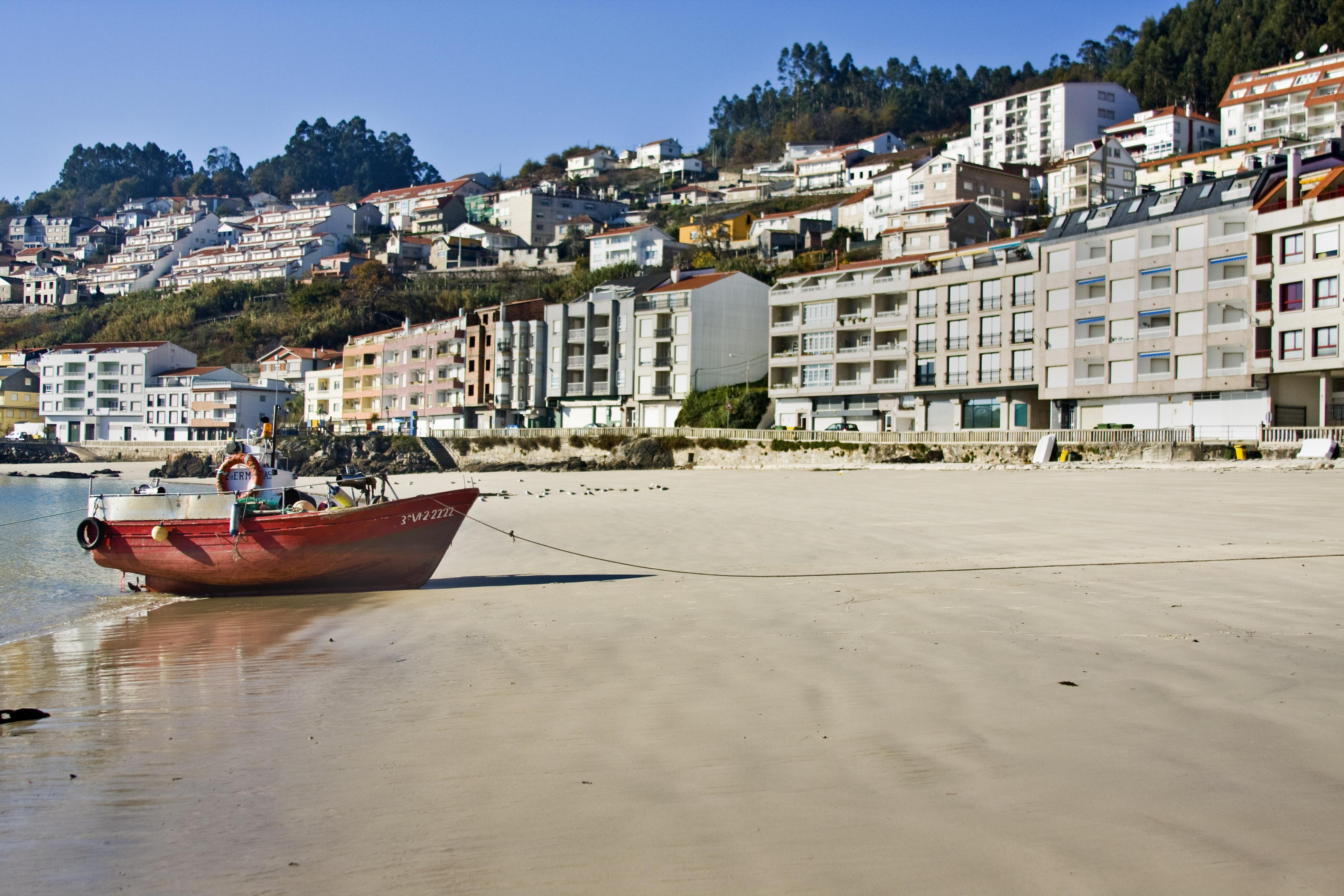 Foto playa Santa Marina. Raxó
