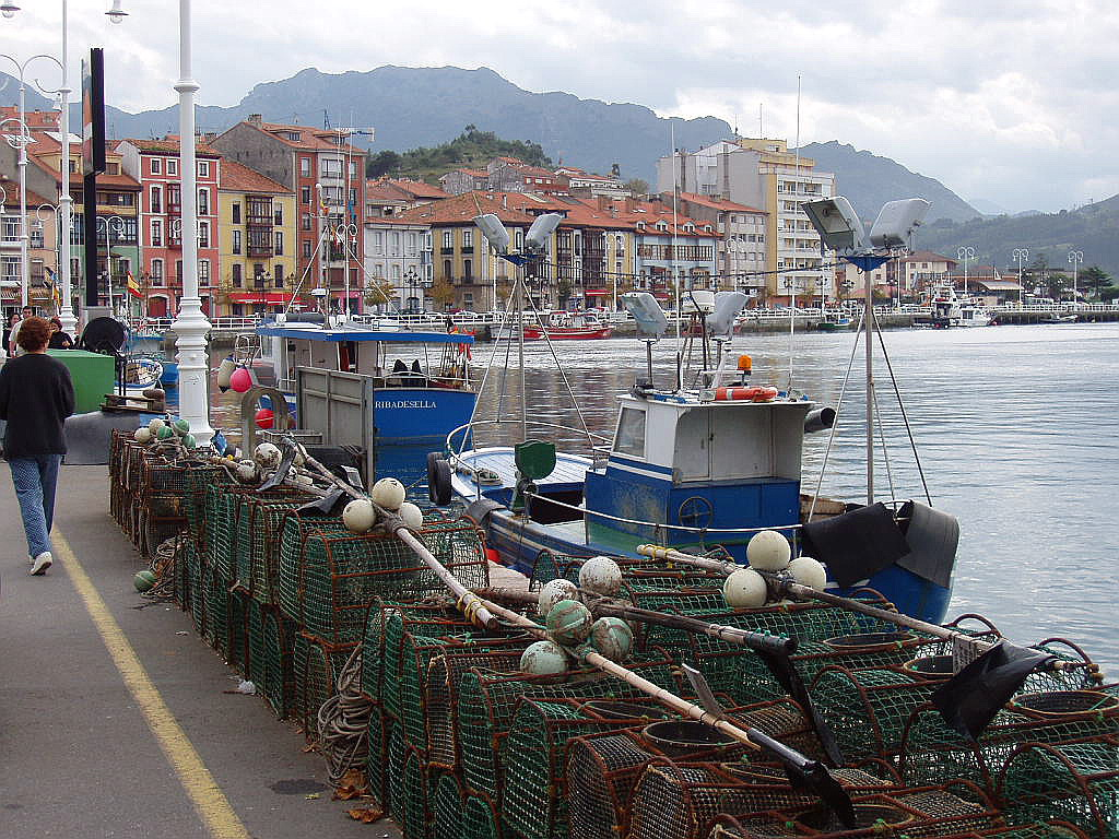 Foto playa La Atalaya. Ribadesella, Asturias, España