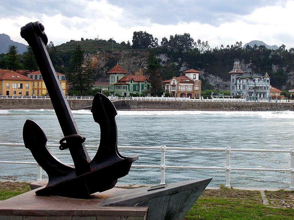Foto playa Arra. Ribadesella, Asturias, España