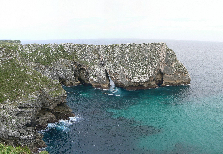 Foto playa Villanueva. Costa de Llanes