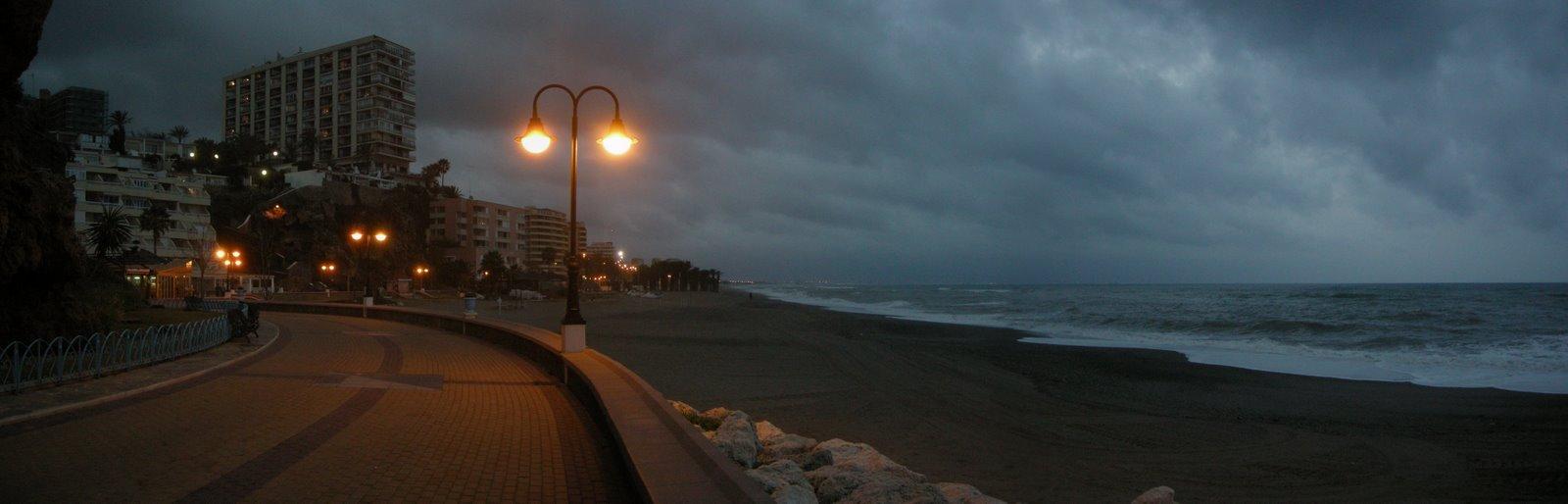 Foto playa La Carihuela. Paseo de la Carihuela
