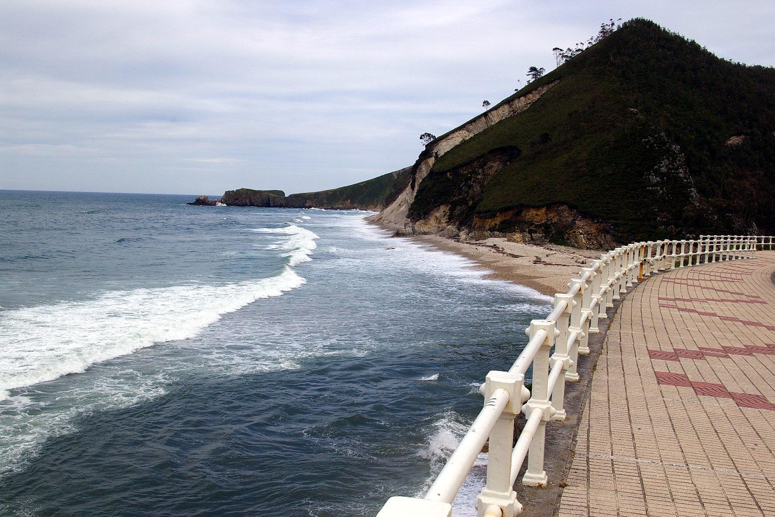 Foto playa San Antolín. San Antolin de Bedon, LLanes, Asturias