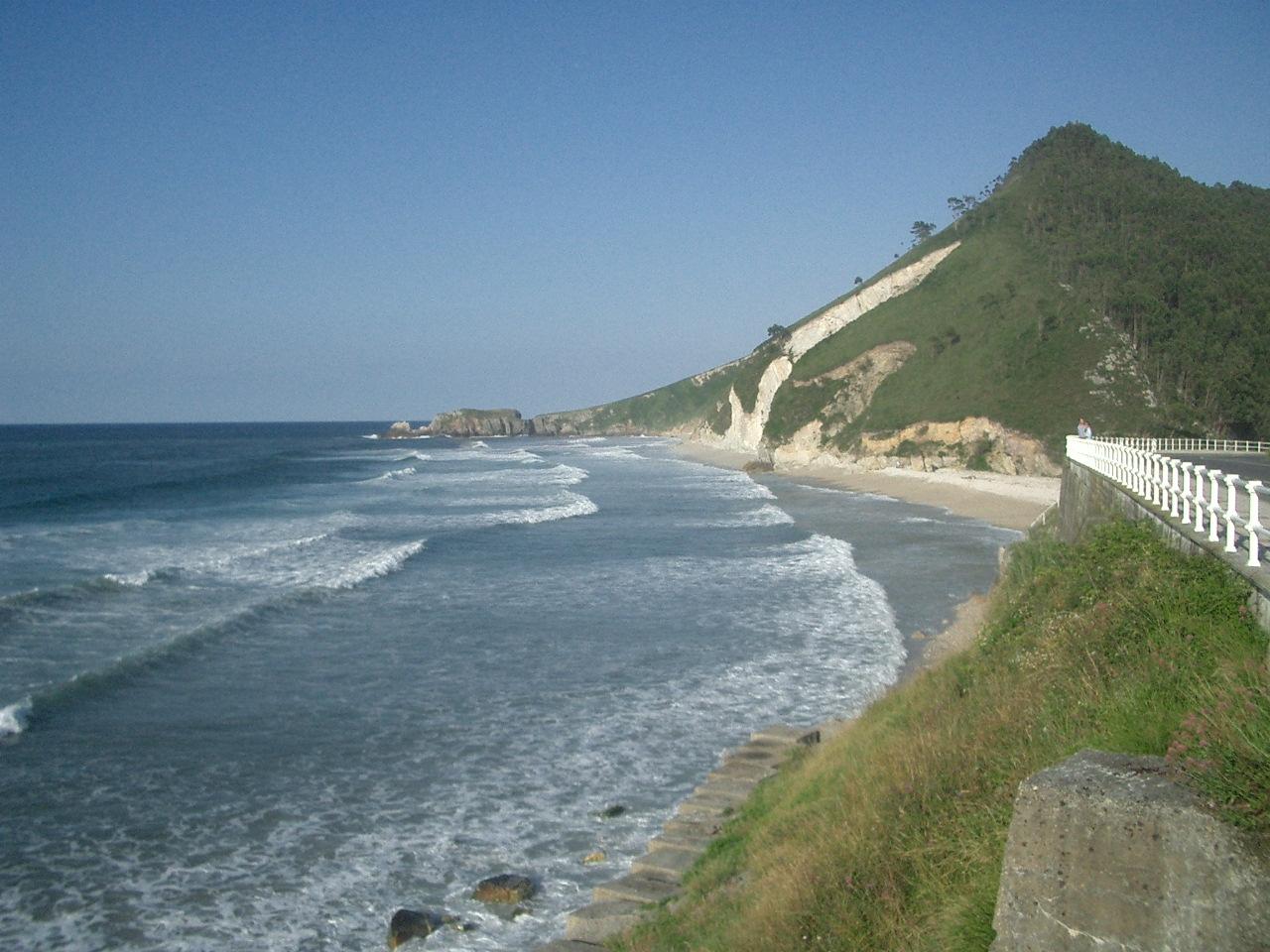 Foto playa San Antolín. San Antolín