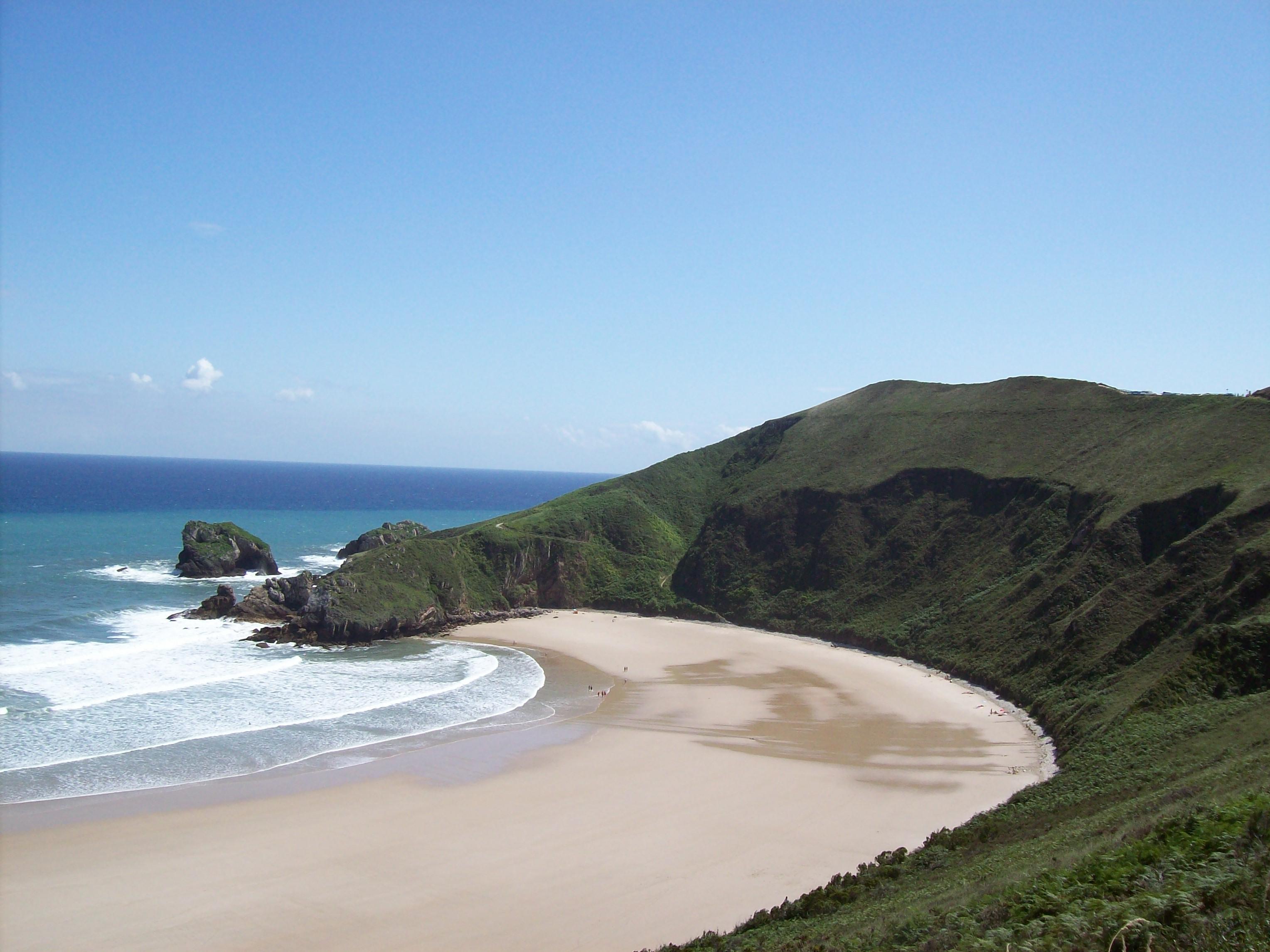 Foto playa Pestaña / Portaquinos. Playa de Torimbia