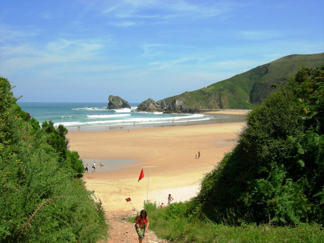 Foto playa Torimbia. Playa Torimbia