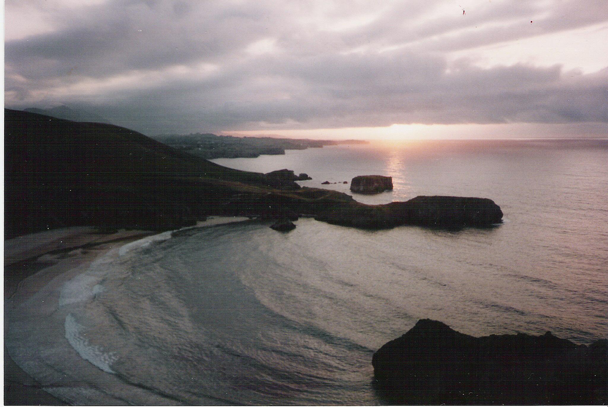 Foto playa Torimbia. Playa de Torimbia (Asturias)