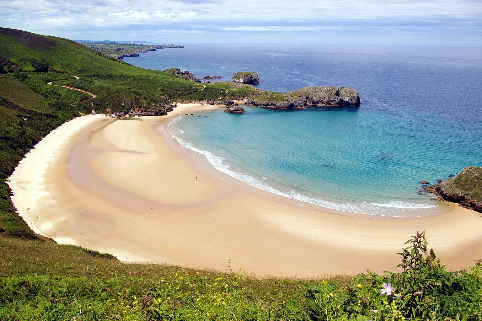 Foto playa Torimbia. Playa de Torimbia, Niembro, LLanes, Asturias