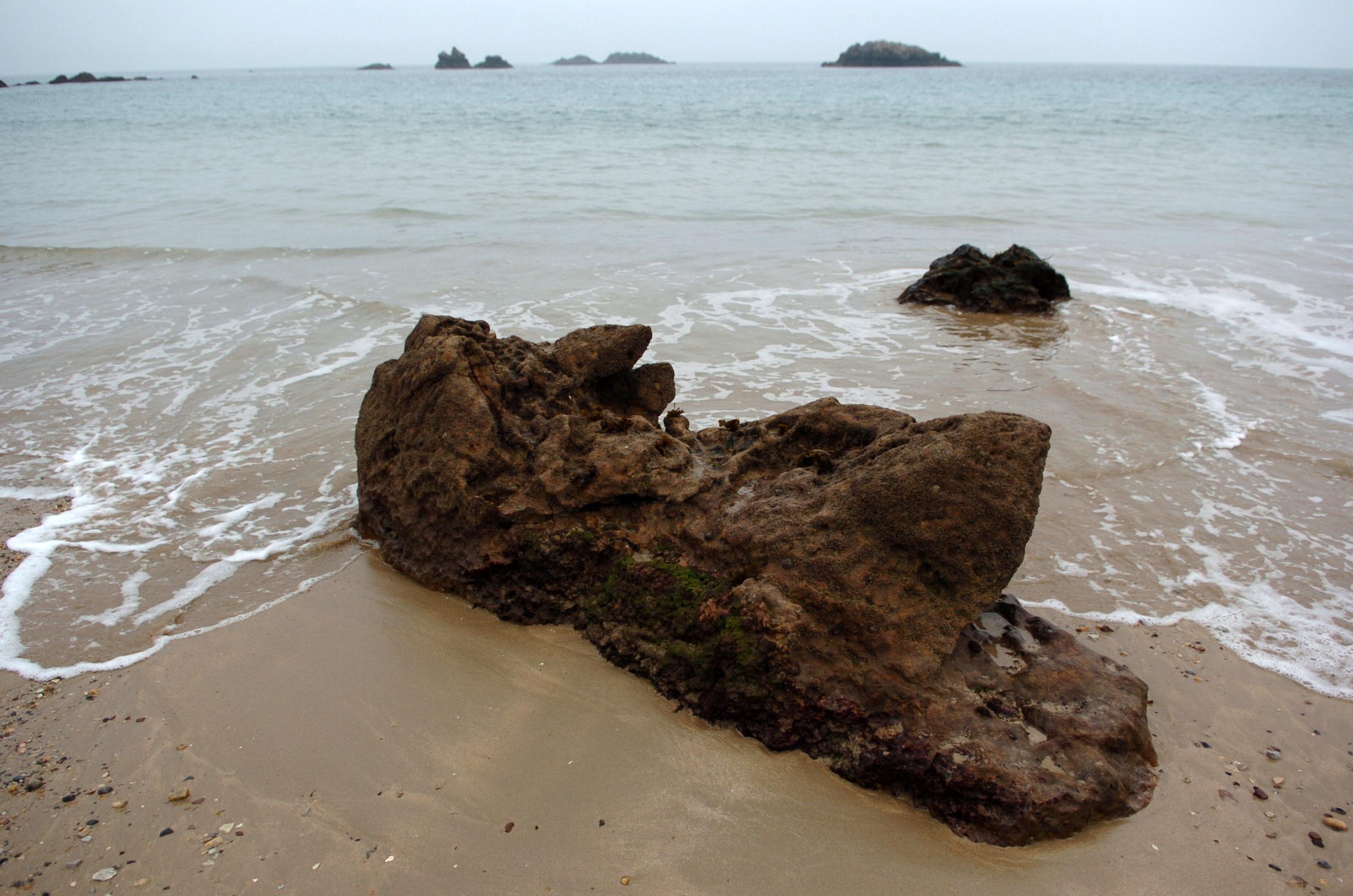 Foto playa La Entrada. toranda llanes