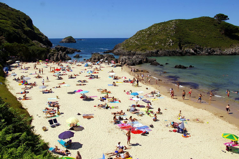 Foto playa Barro. 21 de Junio 2009, Playa de Barro, Barro, LLanes, Asturias
