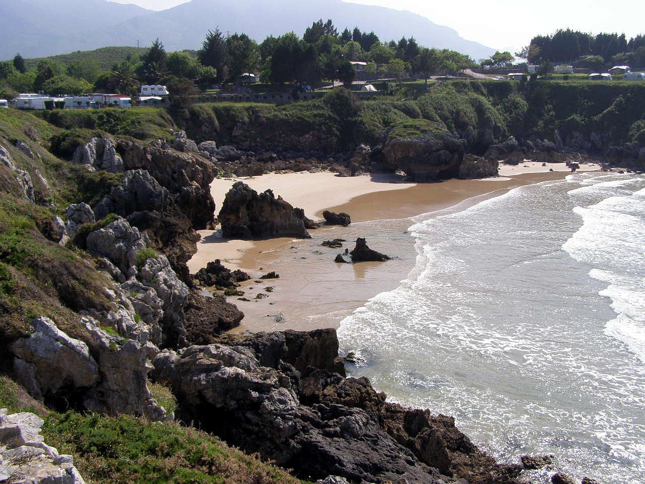 Foto playa Barro. Playa de Troenzo, Celorio, LLanes, Asturias