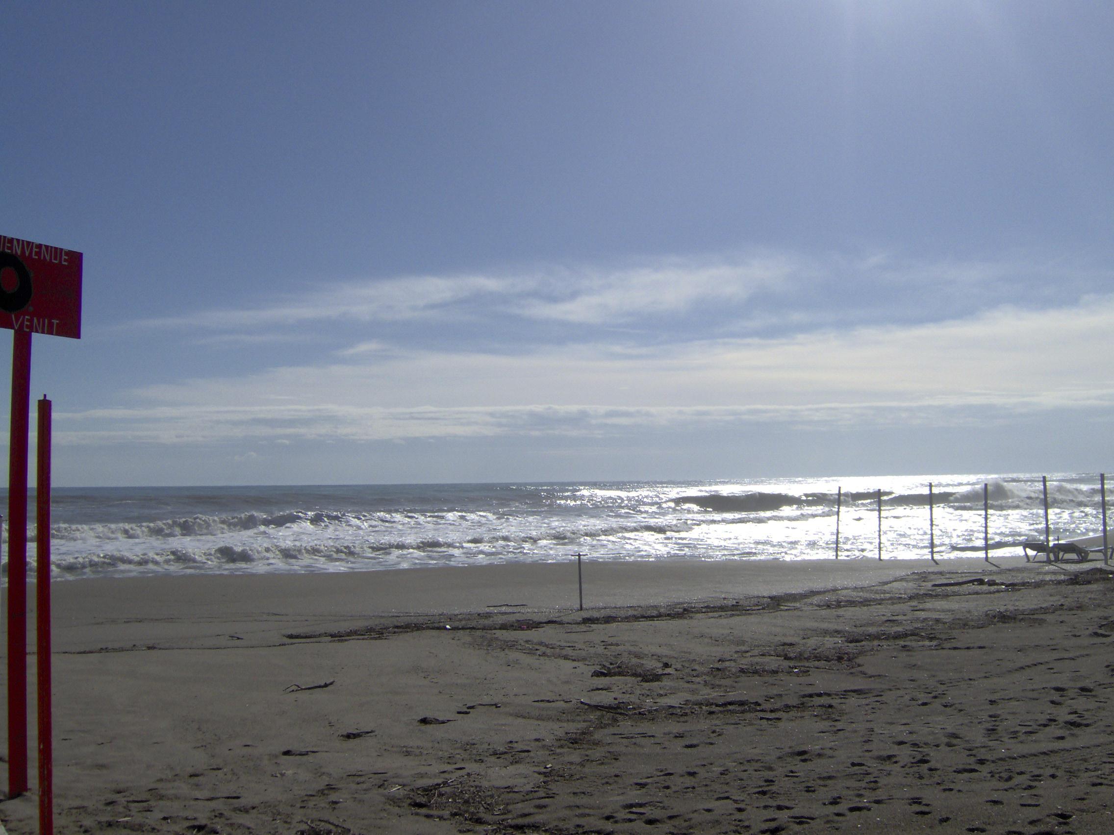 Foto playa Malapesquera / Torrebermeja. Atardecer de noviembre en La Carihuela